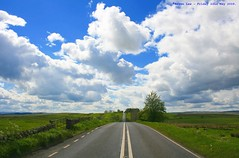A bit up and down...... (law_keven) Tags: blue england sky clouds landscape romanfort nothumberland romans geen housesteads cloudage explore500 vercovicium hadiranswall
