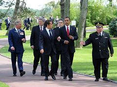 Leaders arrival