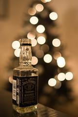 Jack Daniels Bokeh (charminbayurr) Tags: christmas xmas tree festive jack happy prime bottle bokeh spirit tennessee quality 28mm fast sigma whiskey newyear highlights liquor alcohol newyearseve daniels whisky lowkey circular oof hogmany bigmomma challengeyouwinner