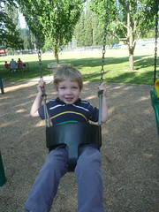 Coming up (Jeff Youngstrom) Tags: playground nathan swing issaquah