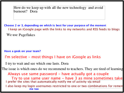 Edublogs Webinar Screen Shot