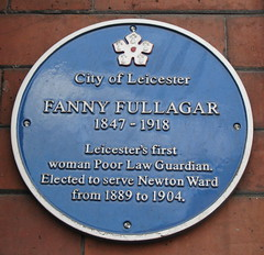 Photo of Fanny Fullagar blue plaque