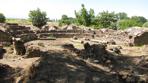 Ruins in Dion, Greece