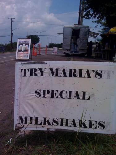 Beachbound milkshakes