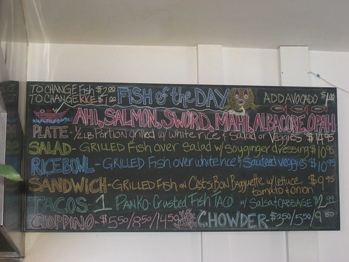Bear Flag Fish Co. Menu
