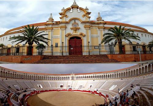 Plaza de toros de Melilla, África. La Mezquita del Toreo