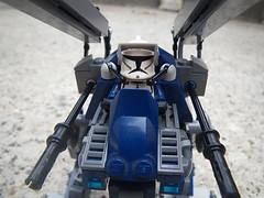 12 014 ('Wrecks') Tags: foot star starwars cool lego hose walker clones wars clone missle legion blaster minigun clonewars moc 112th cabg lasrer thecabg wreckslego