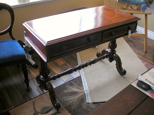 Victorian Sofa Table Before