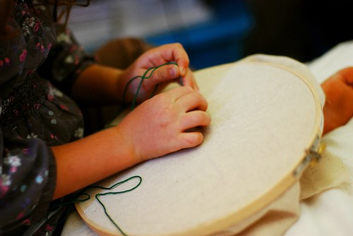 kid embroidery