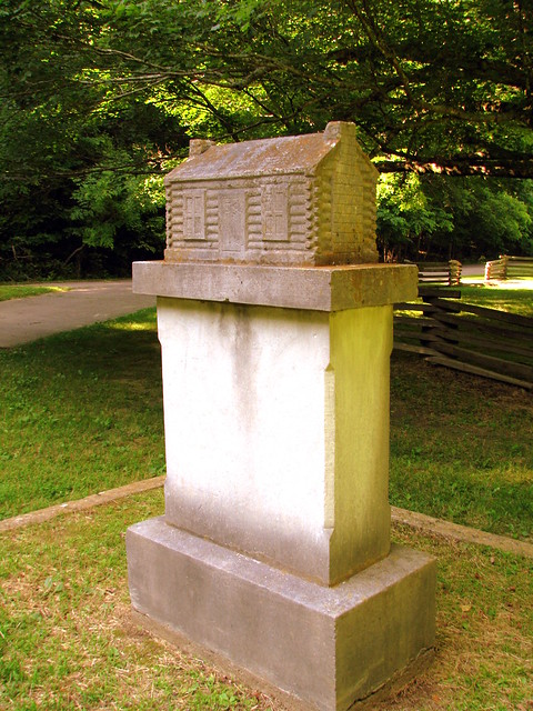 Birthplace of a Denomination 3: McAdow marker