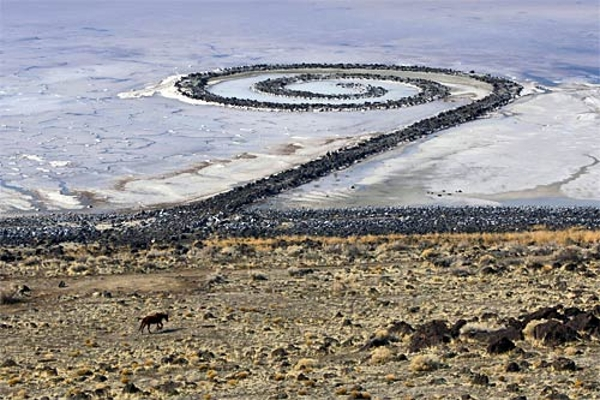 Spiral Jetty, Utah, USA