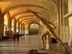 The Borghese Gladiator