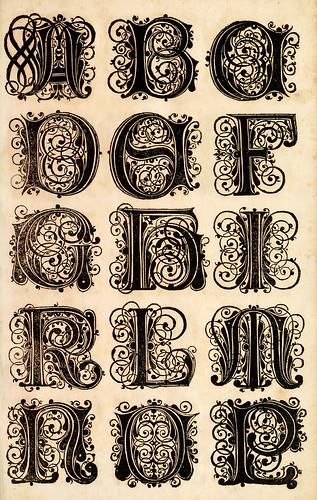 002--Kunstrichtige Schreibart  allerhand Versalie..Paul Frank 1655