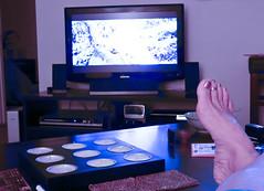 not where I am nor what I am doing now (DigitalLyte) Tags: vacation tampa movienights futab feetuptakeabreak lumixdmcfz18