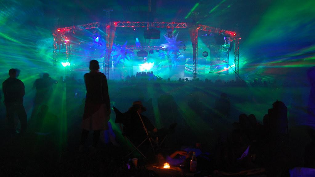 VuuV Festival 2009 - Putlitz/Germany | LaserBeamFactory