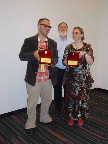 The Prometheus Awards at WorldCon 2009.
