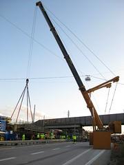 IMG_1652 (NikooliX / A I Nikolis) Tags: ltm bridge mobile gteborg lift sweden crane gothenburg mobil heavy kran 1500 81 liebherr olskroken mobilkran ltm1500 havator
