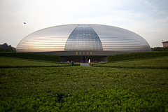 National grand theatre of China (Laws0n_Lu) Tags: china travel architecture theatre performance beijing entrance landmark architect   tse    eggmodern