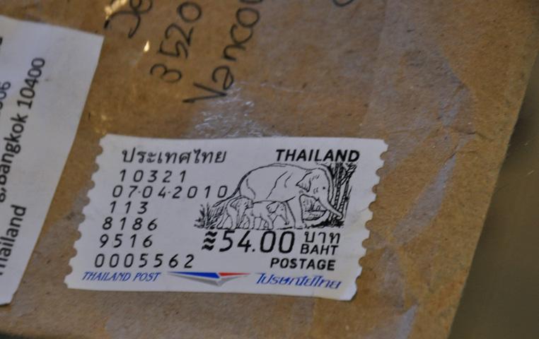 Thai postage