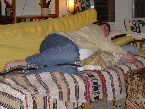 seven years ago: not really comfortable