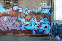 Reas (carnagenyc) Tags: nyc newyork graffiti team wolf spar aok reas stak tfp rooftoplegends newdesignhigh