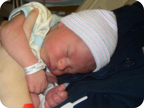 Levi as a Newborn