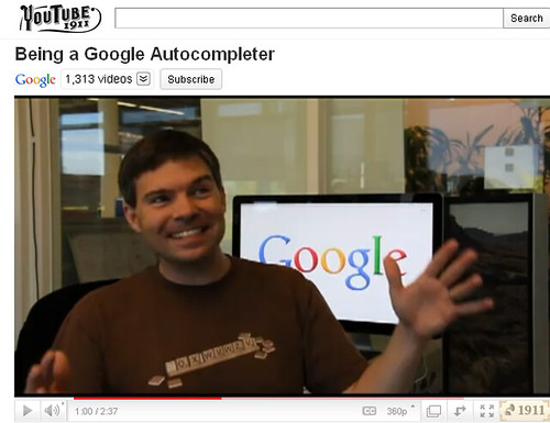 Google April Fools- Autocompleter- Well, this just really sucks
