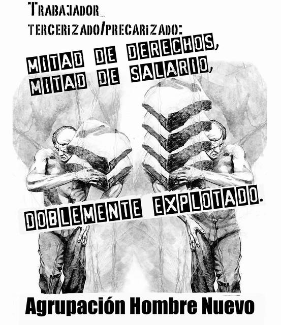 afiche hn 1ro de mayo HN