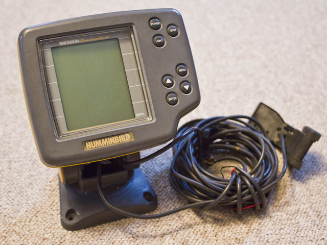 humminbird wide portable fish finder manual