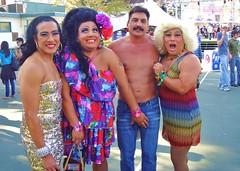 L.A. Pride 1 2011 068 (danimaniacs) Tags: shirtless man hot cute sexy male guy pecs nipple muscular bare chest makeup hunk parol navel abs sedia chicos laye friedalaye chicosangels lapride12011 angelswigkay angelsdressfrieda angelsdresschita