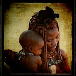 Namibia-Madre Himba