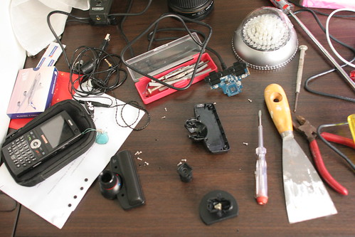 Messy Work desk
