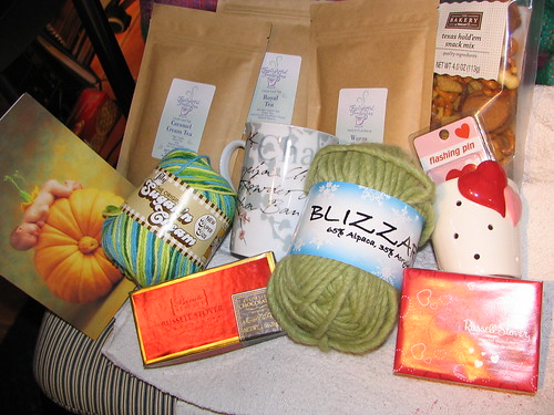 Tea Swap Goodies