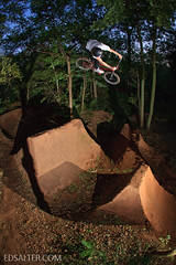 Liam twist (Ed Salter) Tags: england bmx trails twist 360 dirt liam oxfordshire eltham cothill