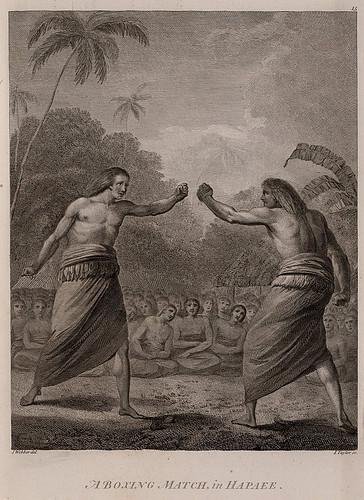 020-Un combate de boxeo en Happae