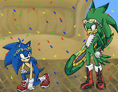 Sonic Vs Jet- Jennifer D