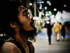 Blowing bubbles. (digitalpimp.) Tags: street interestingness singapore candid scout orchard explore walkabout cbd picnik konicaminolta a300 theworldthroughmyeyes digitalpimp sonyalpha nathanhayag konicaminoltaaf50mmf17rs bananats