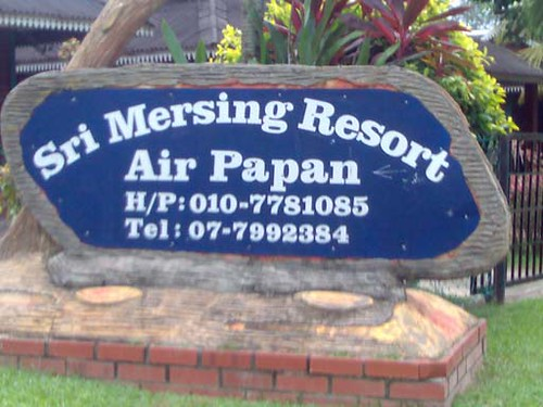 Air Papan Chalet Mersing Sri Mersing Resort Air Papan