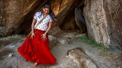 Red Rocks • Mamallapuram (Henk oochappan) Tags: travel india 2009 tamil tamilnadu southindia mamallapuram dravidian oochappan krishnasbutterball indianphotography img1187 tamillifeculture