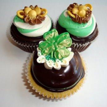 Swirlz St. Patrick's Day 2009 Cupcakes