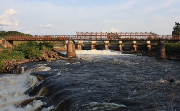 Le pont sur la rivière Tshopo à Kisangani