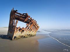 Shipwreck (sking5000) Tags: park oregon coast state fort stevens peter shipwreck iredale sking5000