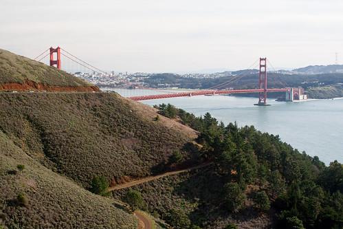 Golden Gate Bridge near San Francisco