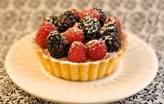 raspberry blackberry tart