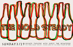 -The Hold Steady- (blmaddock) Tags: poster gig hold steady