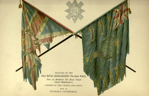 031-Banderas del Regimiento 42 Royal Highlanders