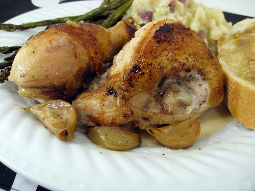 Chicken with 40 Cloves of Garlic – Elly Says Opa!