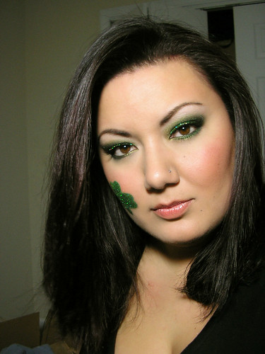 St. Paddy's Day Smoky Green Eyeshadow