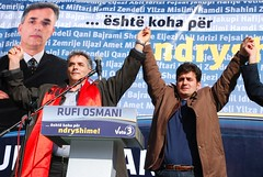 DSC_2980 (RufiOsmani) Tags: macedonia change albanian elections 2009 kombi osmani gostivar rufi shqip flamuri maqedoni gjuha rufiosmani zgjedhje ndryshime politike