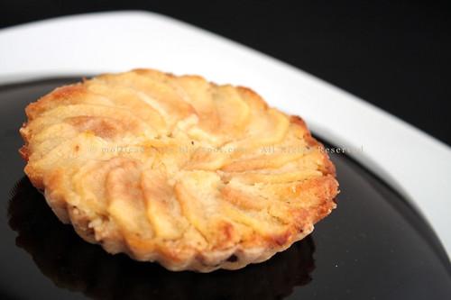 Petite tarte amandine aux poires